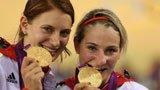 伦敦奥运第85金 自行车女子团体竞速赛德国队
