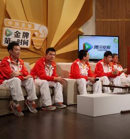 腾讯专访体操男团