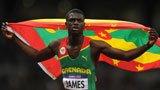 伦敦奥运第178金 男子400米 詹姆斯