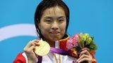 伦敦奥运第154金 女子跳水3米板 吴敏霞
