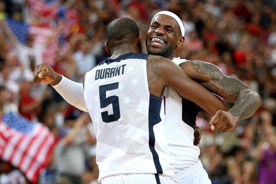 杜兰特30分美国险胜西班牙 蝉联奥运男篮金牌