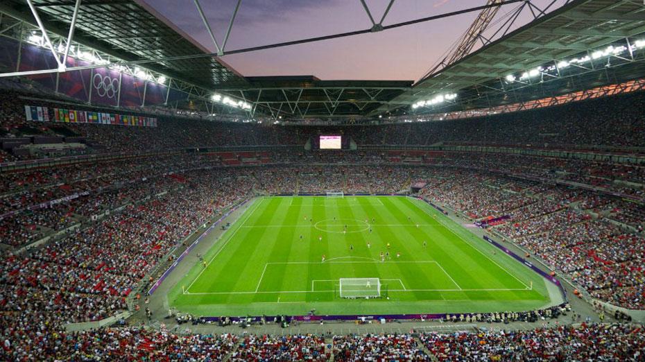 奥运全景360:伦敦奥运足球场全景360