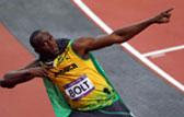 男子100米决赛 博尔特9.63秒破奥运纪录再夺金