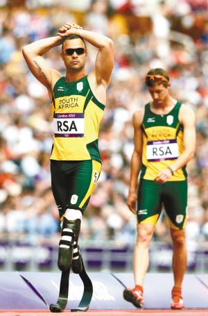 奥组委为刀锋战士破例 南非未完赛仍能进决赛