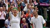 伦敦奥运第152金 网球混双冠军出炉 白俄罗斯