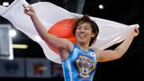 伦敦奥运第226金 摔跤女子55kg级 日本