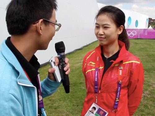 专访易思玲:赛前饱受干扰 喜欢有安全感男生