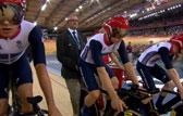 场地自行车男团追逐赛决赛回放 英国获得金牌