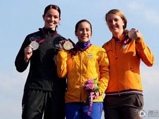女子小轮车 哥伦比亚夺冠