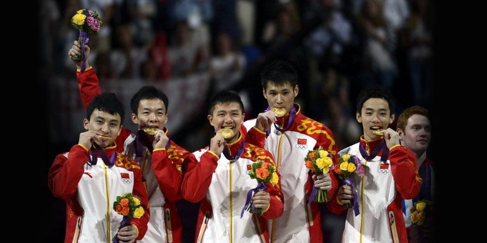 体操男团夺中国第九金