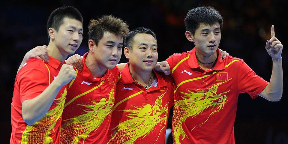 国乒男团完胜韩国夺冠