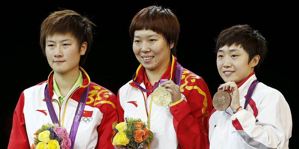 李晓霞夺乒乓球女单冠军