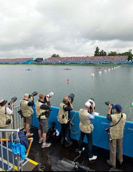 奥运赛艇比赛360全景图