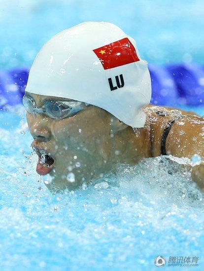 女100蝶决赛-陆滢摘银 沃尔默破世界纪录夺冠