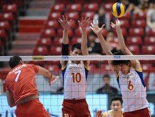 中国男排0-3欧洲冠军