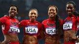 伦敦奥运第273金 女子4x400米接力 美国队