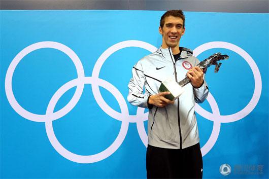 18金22奖菲鱼完美谢幕 他为奥运留下一段传奇