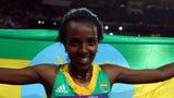 伦敦奥运第113金 女子一万米迪巴巴