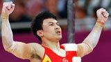 伦敦奥运第183金 体操男子双杠 冯喆