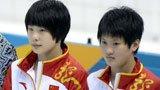 伦敦奥运第43金 女双10米台陈若琳汪皓