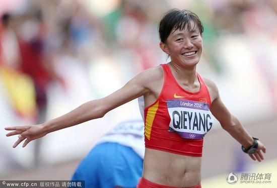 20公里竞走-切阳什姐摘铜 俄选手破纪录夺冠
