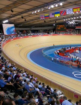 奥运自行车比赛360全景图