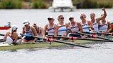 伦敦奥运第76金 赛艇女子八人单桨美国队
