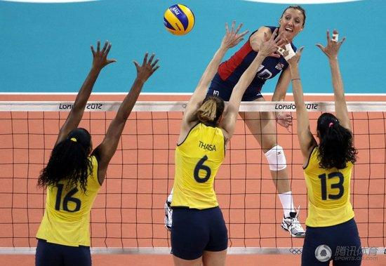 大逆转!巴西女排3-1美国 成功卫冕奥运金牌
