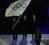 奥运会旗交接仪式