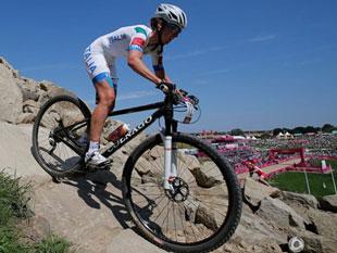 女子山地车越野赛法国夺冠