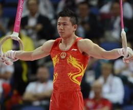 视频:陈一冰吊环完美表现 金牌意外旁落