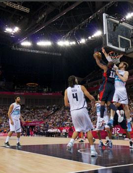 奥运篮球比赛360全景图