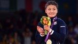 伦敦奥运第209金 女子摔跤63公斤级 伊调馨