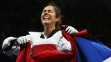 伦敦奥运第284金 跆拳道女子67kg级 曼迪克