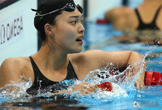 女100自由泳-唐奕摘铜牌 荷兰选手破纪录夺冠