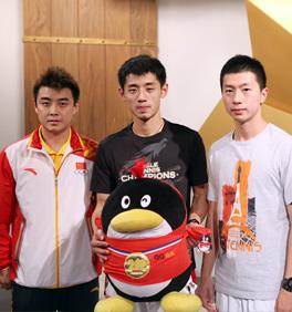 中国乒乓男团