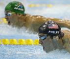 男子200米蝶泳决赛回放:菲尔普斯无缘冠军