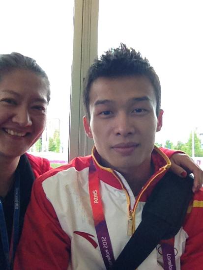 吴景彪:伦敦奥运给我历练 未来还需脚踏实地