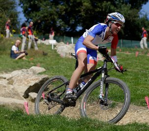 女子山地车越野赛 法国夺冠