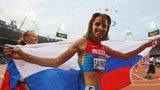 伦敦奥运第270金 女子800米 萨维诺娃