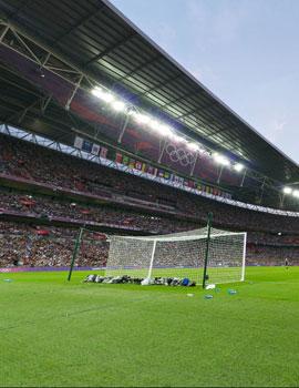 奥运足球比赛360全景图