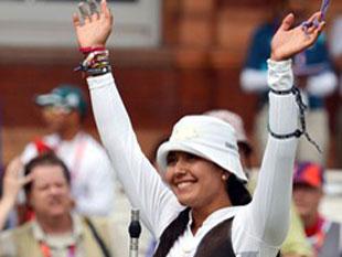 射箭女单1/8决赛墨西哥胜出