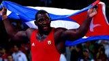 伦敦奥运第176块金牌 男子古典式120kg级 米加因-洛佩斯