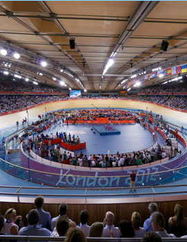 奥运自行车比赛360全景图(2)