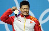 举重男子77公斤级 吕小军总成绩379公斤破世界纪录