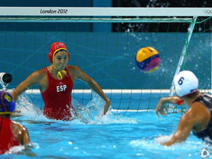女水决赛 美国胜西班牙夺金