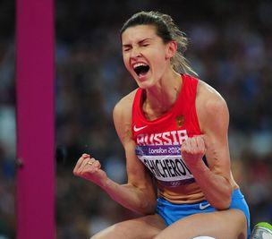 女子跳高俄罗斯奇切洛娃夺冠