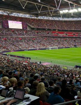 奥运足球比赛360全景图(2)