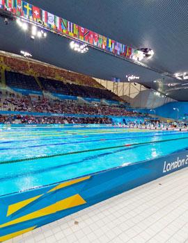 奥运游泳比赛360全景图(3)
