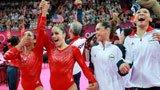 伦敦奥运第47金 体操女团美国队